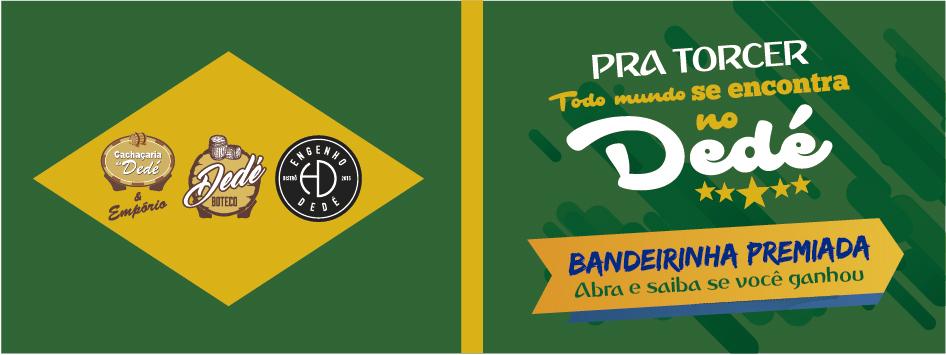 Bandeirinha Premiada Dedé Boteco 6x4-01